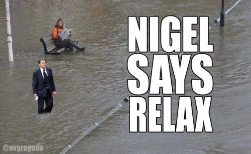Nigel Says Relax